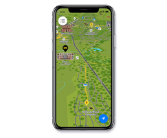 Smart Places App Personal Sat Nav