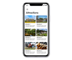 Smart Places App Attractions