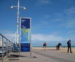 Sea front signage - Bognor Regis