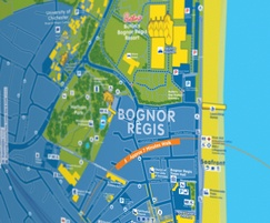 Bognor Regis map by fwdesign