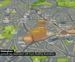 Promote key destination features & routes