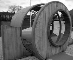 All Hoop shelter from Handspring Designs are bespoke