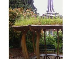 Spanish Onion shelter with living green roof