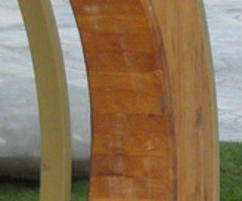 Oak element from the Hoop play shelter