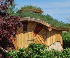 Green roof outdoor classroom