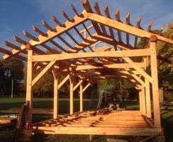 Dore outdoor classroom -  frame