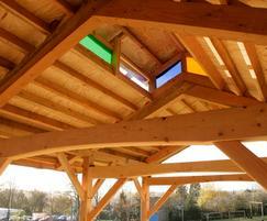 Dore outdoor classroom - lantern