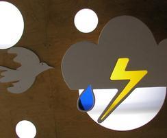 Cloud Roof outdoor classroom - lightning detail