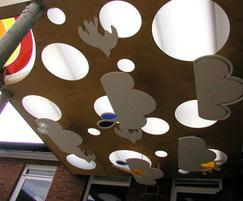 Cloud Roof outdoor classroom
