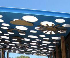 Cloud Roof outdoor classroom