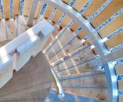 Baobab spiral stairs
