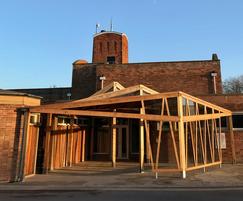 Kite Canopy for crematorium