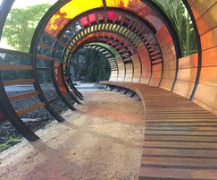 Tunnel Hoops - Children's Garden, Kew