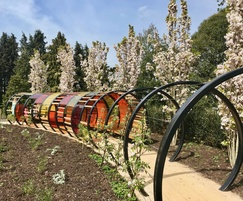 Fruit Hoops and Tunnel Hoops - Kew Children's Garden