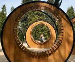Pergola Hoops - Children's Garden, Kew