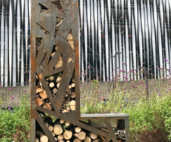 Corten steel L bug house