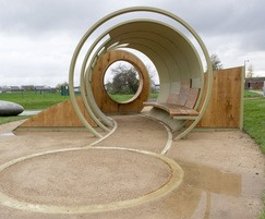 The Hoop youth and play shelter