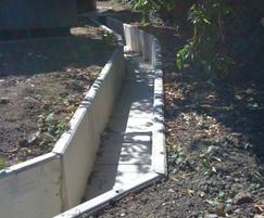 Precast concrete duct