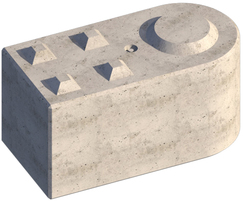Legato Bendi interlocking concrete block