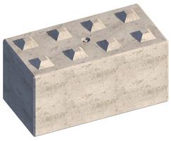 Legato concrete block