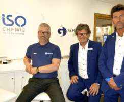 ISO-CHEMIE: ISO-CHEMIE in new industry leading partnership launch