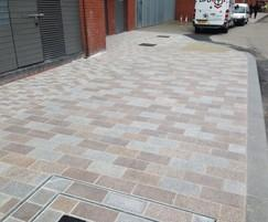 BBS Natural Stone Specialists: Hard landscaping redevelopment of Bank Square, Belfast