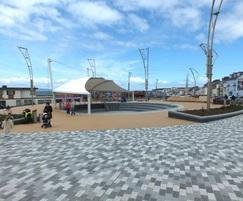 AluExcel edging, Station Square, Portrush