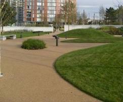 AluExcel landscape edging, Media City, Salford Quays