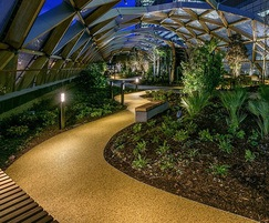 Crossrail Place Roof Garden uses AluExcel edging