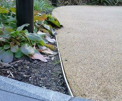 Both 25mm and 65mm edging was used in the project