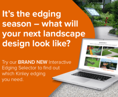 Kinley : New interactive site for landscape edging design