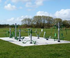 Community Outdoor Gym Equipment