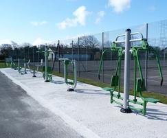 Community Outdoor Gym Equipment Buy