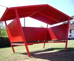 Loft youth shelter