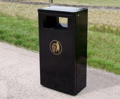 Litter Container Comes in Black as Standard - MLC209