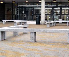 Pewsham Solid Granite Bench - PBN400