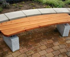 Sheldon Curved Bench -