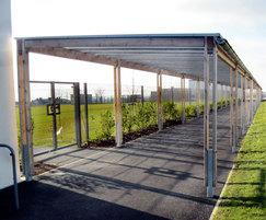 Sheldon Timber Covered Walkway - SPG322