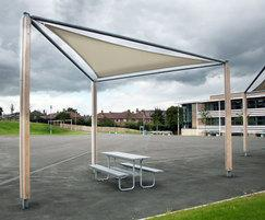 Sheldon Solar Shading Shelter - SPG308
