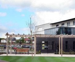 SPG300 pergola, Finchley Memorial Hospital