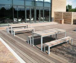 SPT318 picnic table, Hitachi, Trowbridge