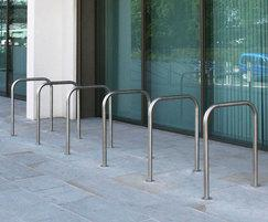 MCR200 cycle rack, West Yorkshire Police Divisional HQ