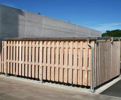 SBS300 bin storage, Wakefield Div HQ