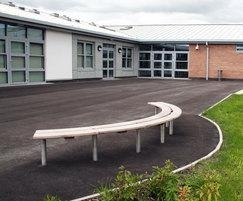 Barnoldswick Primary School SBN337 Bench