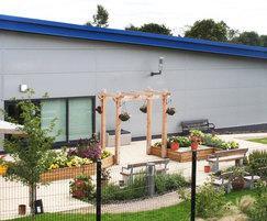 Sheldon Pergola SPL300, Holt Park Active Secure Garden