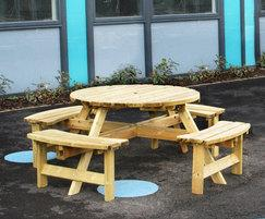 Picnic Table SPT306 - Ercall Wood Technical College