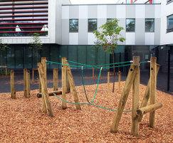 Fenstanton Primary - agility play equipment