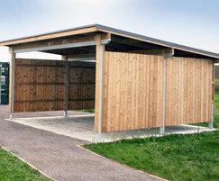RAF Lyneham Training Shelter 01