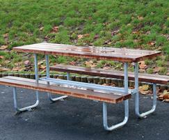 Sheldon Timber Topped Picnic Table - SPT300