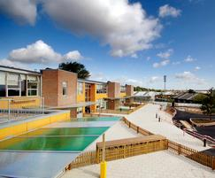 Malford Entrance Canopy Used on School Project - MCP200